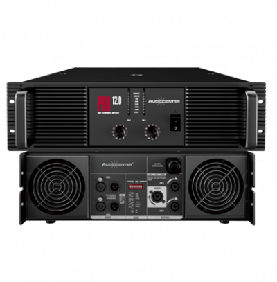 Audiocenter Pro 12.0 2x1500 Watt Power Amfi
