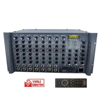 Best Acoustic AN8500RSUT2 Amfi Mikser 8 Kanal 2x500W