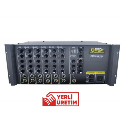 Best Allegro AN400MRT Amfi Mikser 6 Kanal 400W