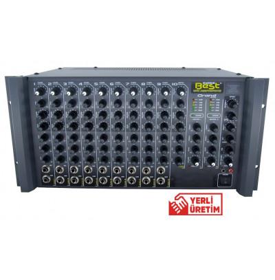 Best Grand AN200RS Amfi Mikser 10 Kanal 2X200 Watt