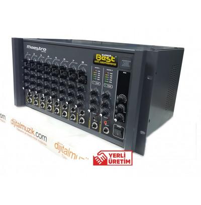 Best Maestro AN400ST2 Amfi Mikser 8 Kanal 2X400W