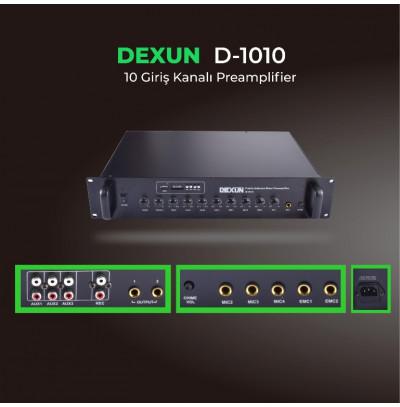 Dexun D 1010 Preamp Usb li