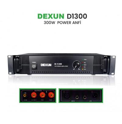 Dexun D 1300 Trafolu Power Amplifikatör