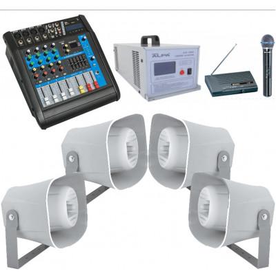 Araç Üstü Ses Sistemi Paketi 6