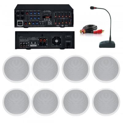 Dmm İşyeri Ses Sistemi 29 Amfi ve Tavan Hoparlörü Seti