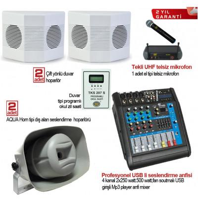Okul Ses Sistemleri Paket 19