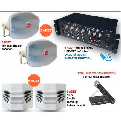 Okul Ses Sistemleri Paket  20