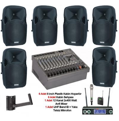 Tiyatro Salonu Ses Sistemi Paket 10