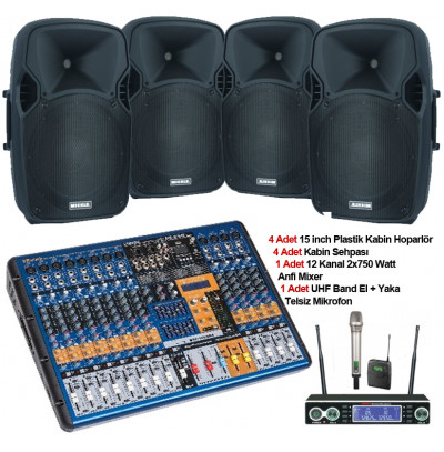 Tiyatro Salonu Ses Sistemi Paket 7