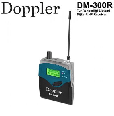 Doppler Dm300R Tur Rehberleri için Alıcı Ünitesi