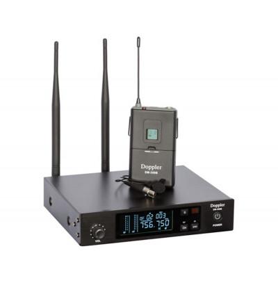 Doppler Dm350B Tek Yaka Tipi Telsiz Kablosuz Mikrofon