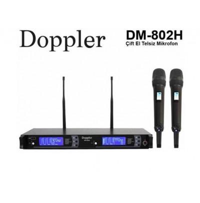 Doppler Dm802H Siyah Kablosuz Mikrofon