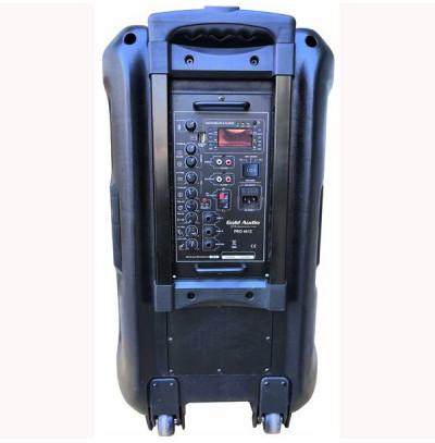 Gold Audio Pro-5412EY Taşınabilir Mikrofonlu Hoparlör