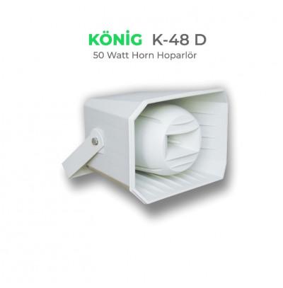 König K-48D Aqua Horn Hoparlör