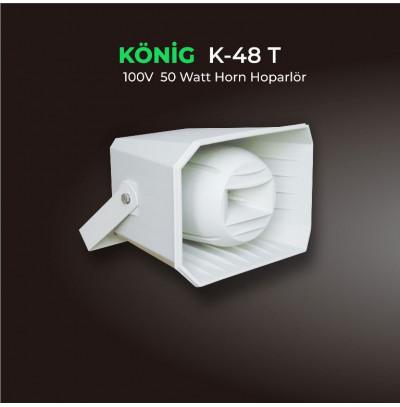 König K-48T Aqua Horn Hoparlör