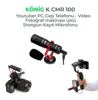 König K-Cmr 100 Youtuber Kayıt Mikrofonu