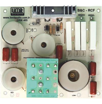 Limit Audio Crw-403 Hoparlör Koruma Filtresi Bas -Mid - Tiz