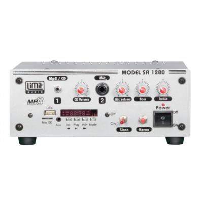 Limit Audio Sa-1280 Usb Tekne Ve Seçim Aracı Amfisi