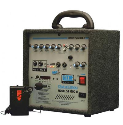 Limit Audio Sa-4100T Yaka Taşınabilir Seyyar Çanta Hoparlör