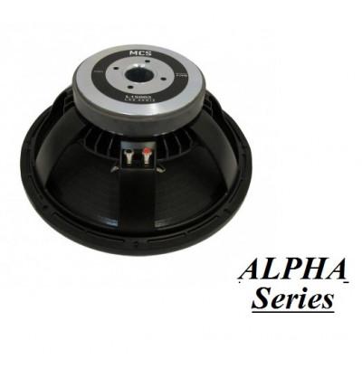 Mcs Alpha A18004 Çıplak Bass Hoparlör 1200W
