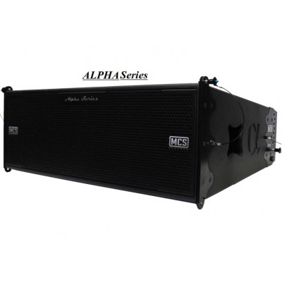 Mcs Alpha A210 Dsp Aktif Line Array Hoparlör