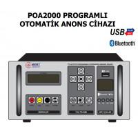 Mert Poa2000 Programlı Otomatik Anons Cihazı