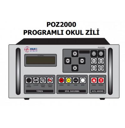 Mert Poz2000 Programlı Okul Zil Saati