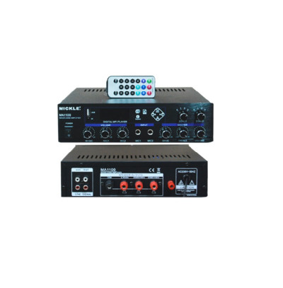 Mickle Ma1100 Amfi Mikser İki Bölgeli 100 Watt,MP3 Player,USB