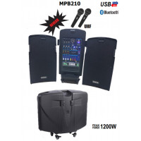 Mickle Mp210 Seyyar Portatif Ses Sistemi