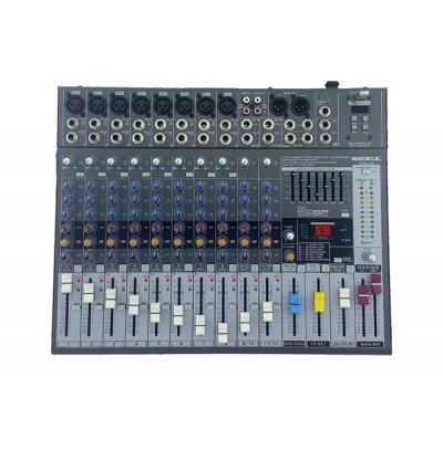 Mickle PME122A Power Mikser Amfi 2x650W 12 Kanal Usb