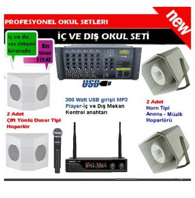 Okul Ses Sistemleri Paket 11