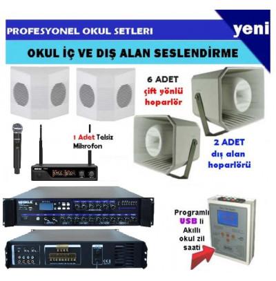 Okul Ses Sistemi Paket 12