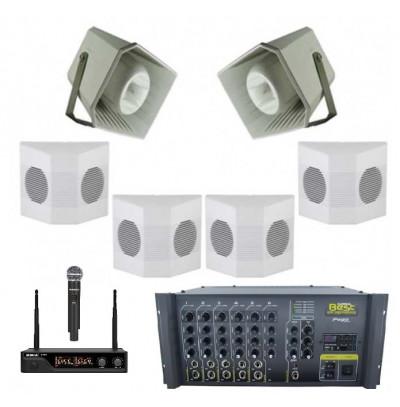 Okul Ses Sistemleri Paket 14
