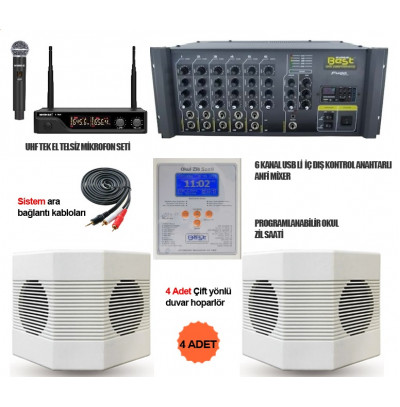 Okul Ses Sistemleri Paket 16