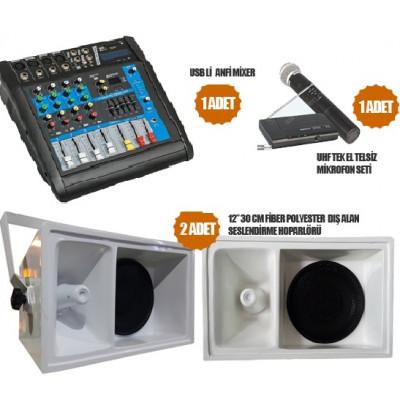 Okul Ses Sistemleri Paket 29