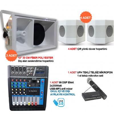 Okul Ses Sistemleri Paket 21