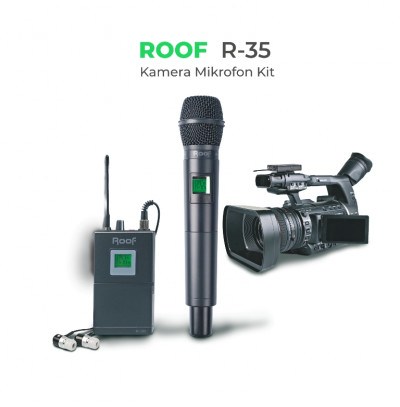Roof R-35 Kamera Mikrofon Kit