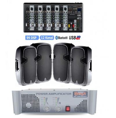 Tiyatro Salonu Ses Sistemi Paket 8