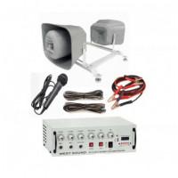 Araç Üstü Mıknatıslı Ses Sistemi 2 Hoparlör