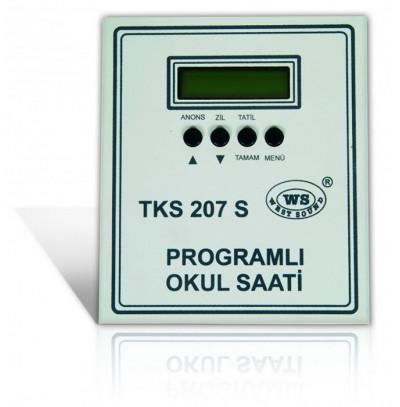 West Sound TKS207 D V2 USB Programlı Okul Zil Saati
