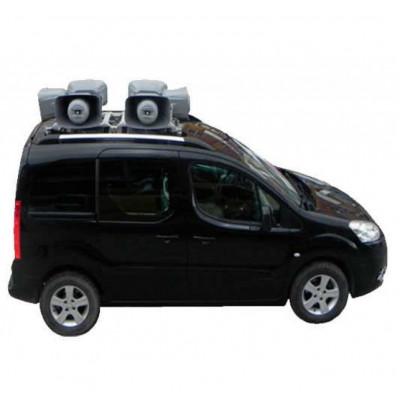 West Sound Araç Üstü Ses Sistemi 6'lı Set