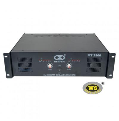 West Sound Mt 2500 Stereo Güç Amfilikatörü Trafolu 500W