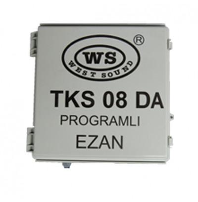 West Sound Tks 08 Da Direk Tipi Güneş Panelli Akülü Programlı Ezan Saati