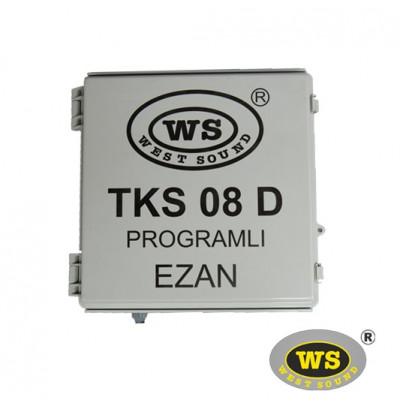 West Sound Tks 08 D Direk Tipi Programlı Ezan Saati