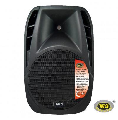 West Sound Tks 12 Dc Portatif Şarjlı Amplifikatör 250W