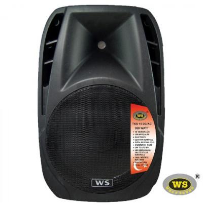 West Sound Tks 15 Ac Portatif Şarjlı Amplifikatör 300W