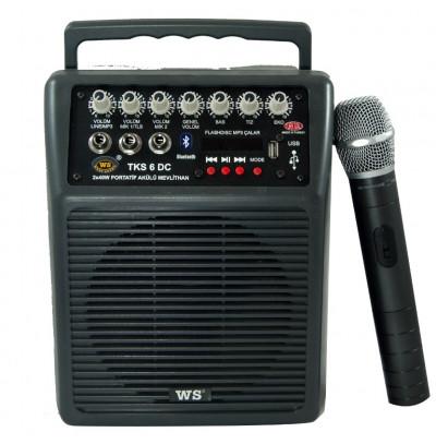West Sound Tks 6 Dc Portatif Şarjlı Amplifikatör