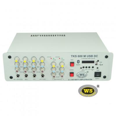 West Sound Tks 600M Usb Araç Üstü Ses Sistemi Amfisi