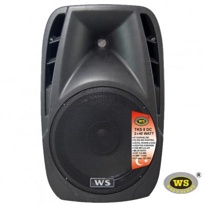West Sound Tks 8 Dc Portatif Şarjlı Amplifikatör