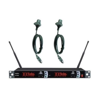 Bots Be-5019 Y Uhf Çift Yaka Telsiz Mikrofon